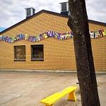 Skapande skola projekt, åk F och åk 6, Hyllinge skola, Åstorp - permanent utsmyckning med F-klasser samt åk 6:or
