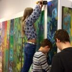 Skapande skola projekt med åk 7 or,Tema Natur och miljö,  Ljungbyhedsskolan, Klippans kommun