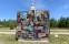 Badaren - spår av mänsklighet / Scene of Anthropocene, 2020, Offentligt verk, Falsterbo strandbad