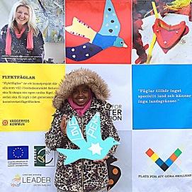 """Leader projekt - Integration, """"Flyttfåglar/Flyktfåglar""""för boende i ett bostadsområde med integrationsfokus i Skillingaryd, Vaggeryds kommun på uppdrag av ReMida"""