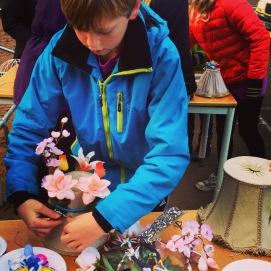 Land art projekt, Skapande skola projekt, åk F-6 Vedby skola