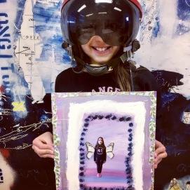 """Skapande skola projekt Tema """"Upp och pröva dina vingar!"""",om drömmar och framtidstro, åk F-3, Hok skola, på uppdrag av ReMida"""
