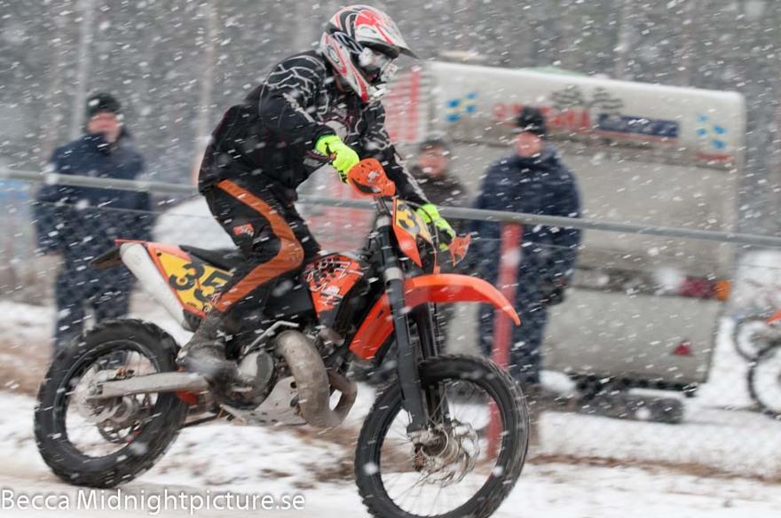 Vintercup väder