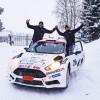 4:a i SM-premiären i 4WD, Östersund Winter Rally