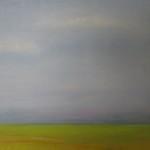 Landskap med blå himmel - igen! Utan staffli 001