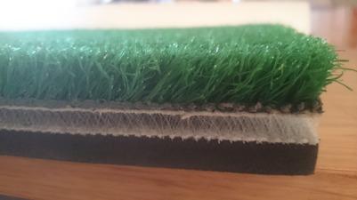 Combi golf mat