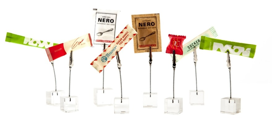 sockra era kaffegäster med egna sockersticks