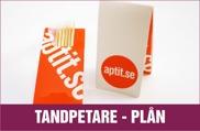 Logo tyrckta tandpetare, kundprofilerade tanpetare förpackningar, vi trycker på tandpetare askar, folder med logotryck, med tryck, tandpetare med tryck