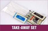 Take-away set