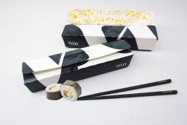 Engångsförpackning som passar utmärkt för Sushi. Beställ från 3000st