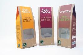 Emballagelösningar av kartong förlivsmedels
