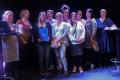 Förskolans personal på scen