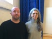 Lars Jonsson och Mania Teimouri