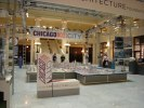 Chicago Architecture Foundation entréhallen med utställning