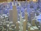 Modell över centrala Chicago