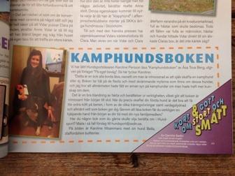 Recension ur Hundsport, Svenska Kennelklubbens tidskrift 5-2014. Dock med fel i text avseende författare och förlag.
