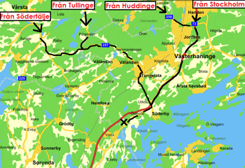 Redigerad karta från Eniro
