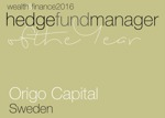 Origo Capital-Hedge Fund Manager of the year Awards (1612WF40) Winners Logo