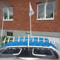 Flagghållare II
