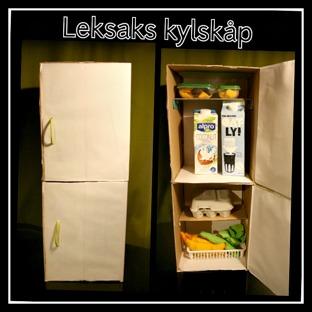 Leksaks Kylskåp