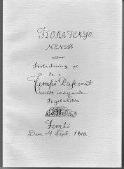 Omslaget till den upplaga som Sigurd Fries presenterade vid släktmötet 1994 i Femsjö