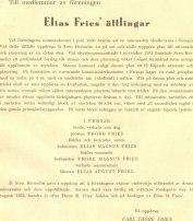 Information till medlemmarna om minnesstenen som restes 1932