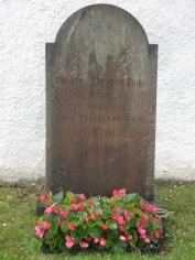 Prosten Thore Fries grav i Femsjö Foto Gunilla Broberg