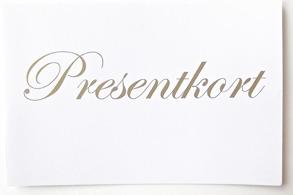 Presentkort hem till dig från 1000 kr -1500 kr
