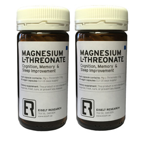 Magnesium L-Threonate 2-pack