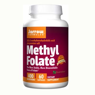 Methyl Folate, 400mcg - 60 kapslar