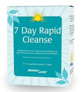 7 Day Rapid Cleanse (intensivkur)