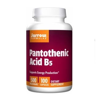 Pantothenic Acid (B5), 100 kapslar - Bäst-före: 07/20
