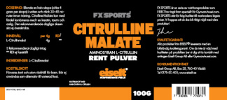 Citrulline Malate 100g