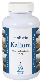 Holistic Kalium 100 kapslar