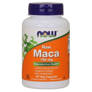 Raw Maca 750mg, 90 vkaps
