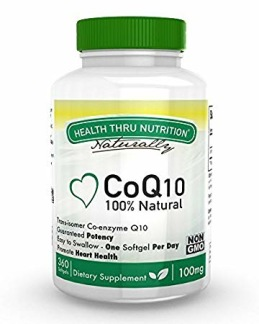 Co-Q10, 100mg, 60 softgels
