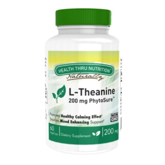 L-Theanine 200mg, 60 kapslar