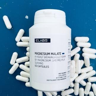 Magnesiummalat 60 kapslar