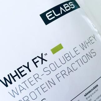 Whey FX 750g Aspartamfritt