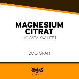 Magnesiumcitrat (pulver) 200g
