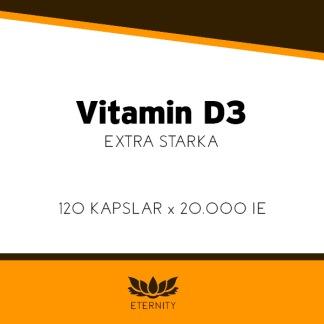 VV Vitamin D3, depot (500MCG)
