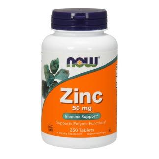 Zinkglukonat, 50mg x 250tabl - 250 tabletter