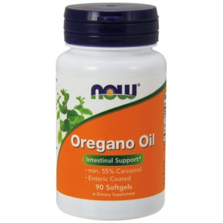 Oregano Oil, 90 enterokaps - 60 sugtabletter