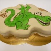 Figurtårta med drake