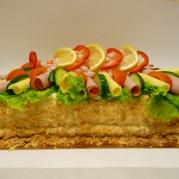 Smörgåstårta Skagen 15-16 bit