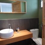 Badrum m WC och dusch