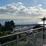 havsutsikt från balkong