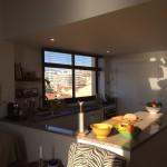 Öppen planlösning  kök vardagsrum