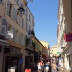 Shopping street pedestrian Zone