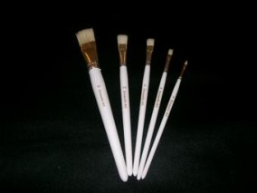 Encaustic Art - Penselset 5-pack